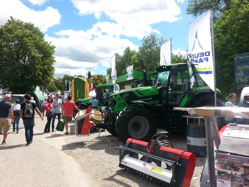 Wieselburger Messe 2017 Landmaschinencenter Januschkowetz